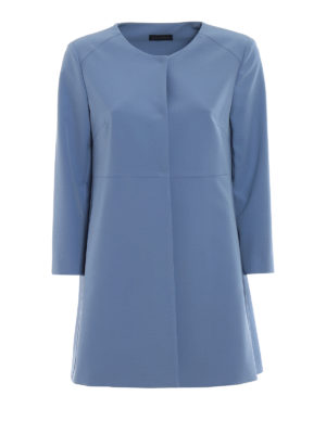 Paolo Fiorillo Capri: short coats - Powder blue dust coat