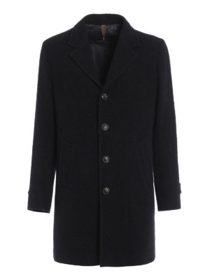 Paolo Fiorillo Capri: short coats - Wool and silk single-breasted coat