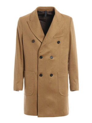 Paolo Fiorillo Capri: short coats - Wool blend double-breasted coat