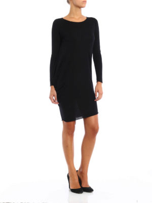 Paolo Fiorillo Capri: short dresses online - Silk-cashmere asymmetrical dress