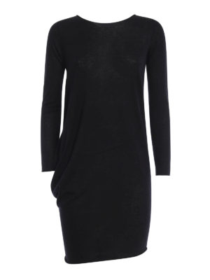 Paolo Fiorillo Capri: short dresses - Silk-cashmere asymmetrical dress