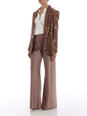 Paolo Fiorillo Capri: Tailored & Dinner online - Bronze sequined shawl collar blazer