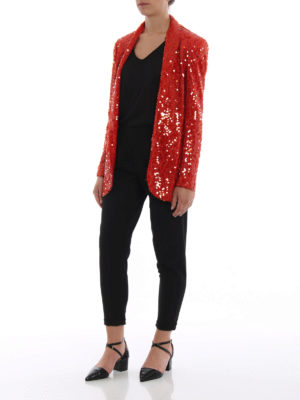 Paolo Fiorillo Capri: Tailored & Dinner online - Sequined shawl collar blazer