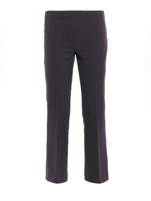 Paolo Fiorillo Capri: Tailored & Formal trousers - Cady crop trousers