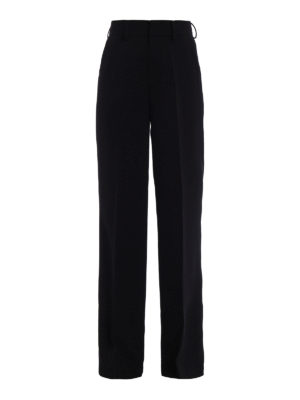 Paolo Fiorillo Capri: Tailored & Formal trousers - Crepe palazzo trousers