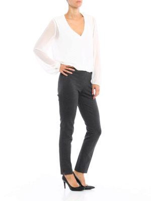 Paolo Fiorillo Capri: Tailored & Formal trousers online - Jersey trousers
