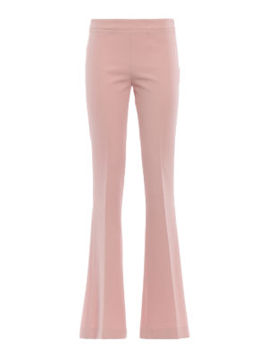Paolo Fiorillo Capri: Tailored & Formal trousers - Pink flared trousers