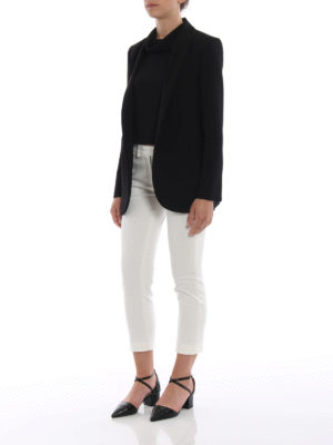 Paolo Fiorillo Capri: Tops & Tank tops online - Cowl collar knitted top