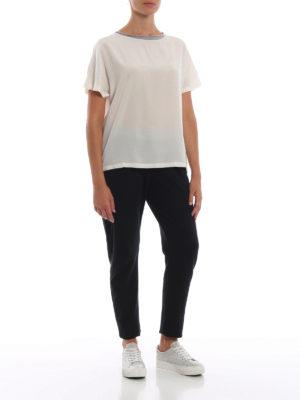 Paolo Fiorillo: bluse online - Blusa in seta a maniche corte