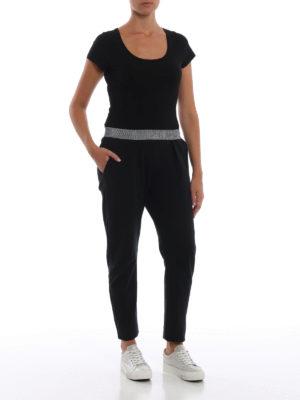 Paolo Fiorillo: pantaloni casual online - Pantalone crop pull on