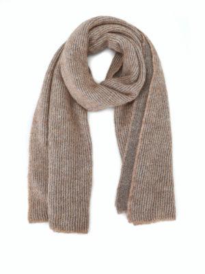 Paolo Fiorillo: sciarpe e foulard - Sciarpa con intreccio in lurex