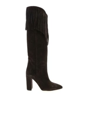 Paris Texas: boots - Pointed boots in brown