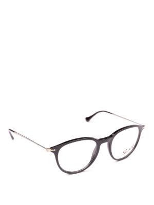 PERSOL: Occhiali - Occhiali da vista neri panto