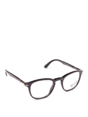 PERSOL: Occhiali - Occhiali Galleria 900 neri squadrati
