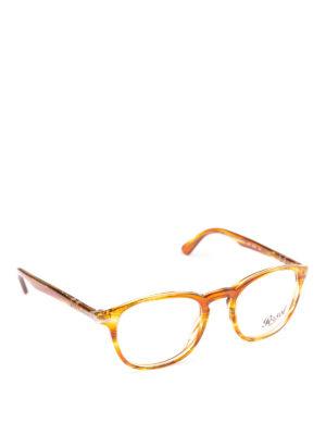 PERSOL: Occhiali - Occhiali Galleria 900 color ambra striata