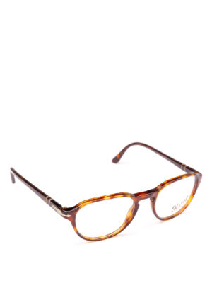PERSOL: Occhiali - Occhiali da vista leggeri color avana
