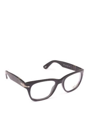 PERSOL: Occhiali - Occhiali da vista  montatura nera opaca