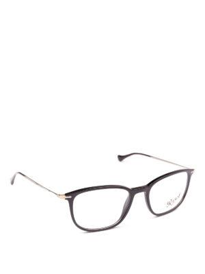 PERSOL: Occhiali - Occhiali da vista neri Reflex Edition