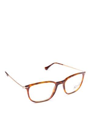 PERSOL: Occhiali - Occhiali da vista Reflex Edition color avana