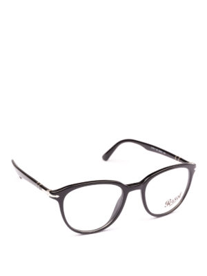 PERSOL: Occhiali - Occhiali da vista pilot Token neri