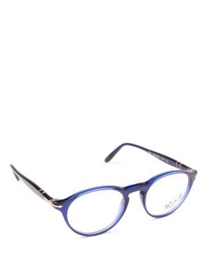 PERSOL: Occhiali - Occhiali unisex da vista Token blu