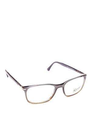 PERSOL: Occhiali - Occhiali da vista Token in grigio degradé