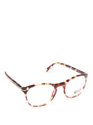 PERSOL: Occhiali - Occhiali da vista Token tartarugato rosso