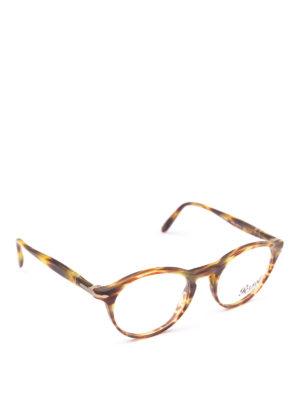 PERSOL: Occhiali - Occhiali da vista Token in tartarugato verde