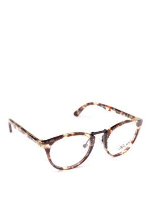 PERSOL: Occhiali - Occhiali da vista Typewriter Edition avana