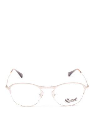 PERSOL: Occhiali online - Occhiali da vista color argento 649 Series