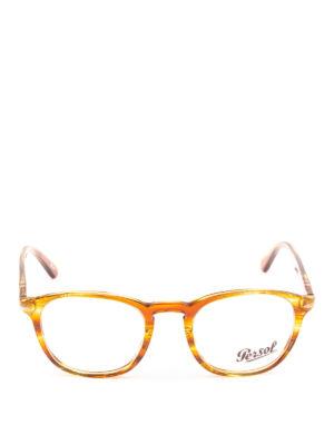 PERSOL: Occhiali online - Occhiali Galleria 900 color ambra striata