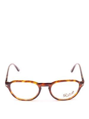 PERSOL: Occhiali online - Occhiali da vista leggeri color avana
