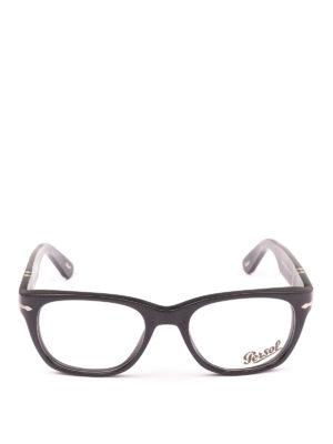 PERSOL: Occhiali online - Occhiali da vista  montatura nera opaca