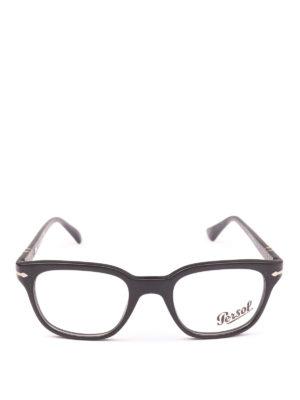 PERSOL: Occhiali online - Occhiali da vista quadrati nero opaco