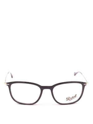 PERSOL: Occhiali online - Occhiali da vista neri Reflex Edition