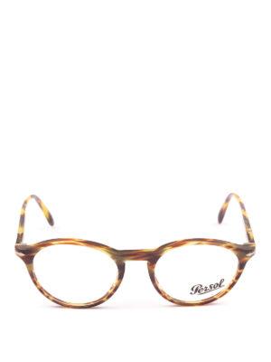 PERSOL: Occhiali online - Occhiali da vista Token in tartarugato verde