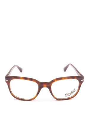 PERSOL: Occhiali online - Occhiali da vista quadrati tartarugati avana