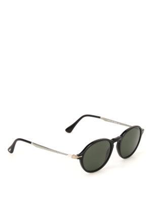 PERSOL: occhiali da sole - Occhiali da sole rétro neri