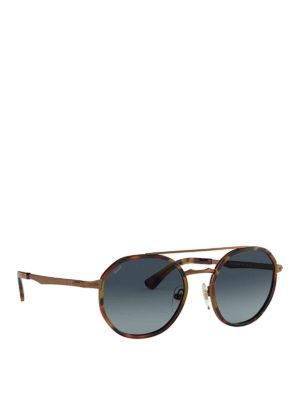 4ec48400ec Panthos black acetate optical glasses. £ 213.00. PERSOL  occhiali da sole -  Occhiali da sole pantos con doppio ponte