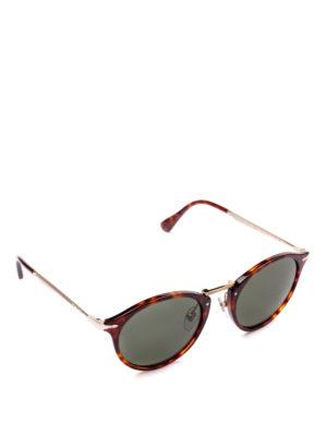 PERSOL: occhiali da sole - Occhiali tortoise con ponte in metallo
