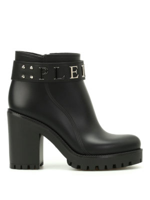 Philipp Plein: ankle boots - Calla gummy booties