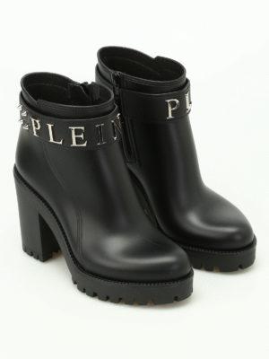 Philipp Plein: ankle boots online - Calla gummy booties