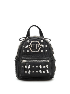 Philipp Plein: backpacks - Again 2 mini backpack