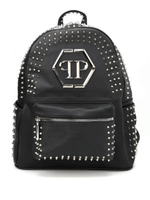 Philipp Plein: backpacks - Major studded backpack