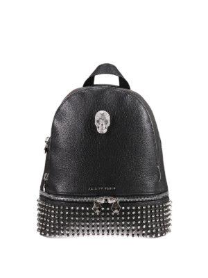 Philipp Plein: backpacks - Medelin medium studded backpack