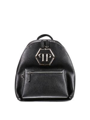 Philipp Plein: backpacks - Nicosia leather backpack
