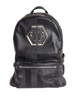 Philipp Plein: backpacks - Oceano backpack with logo