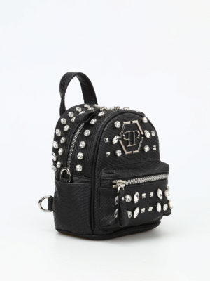 Philipp Plein: backpacks online - Again 2 mini backpack