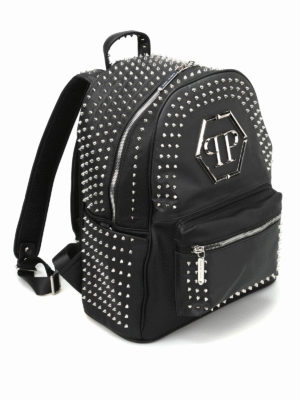 Philipp Plein: backpacks online - Major studded backpack