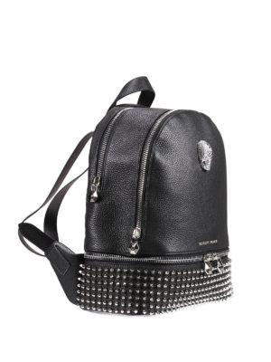 Philipp Plein: backpacks online - Medelin medium studded backpack